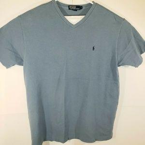 Polo Ralph Lauren Blue V-Neck large Men's Shirt